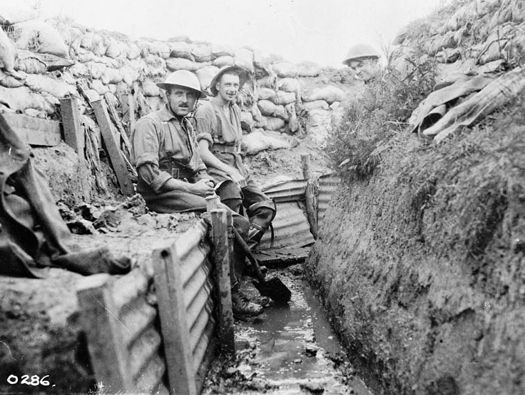 Trenches in World War 1 World War 1 Blog Portfolio